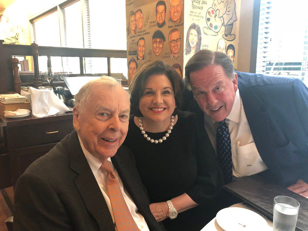 Lee Ann and Alan White helped T. Boone Pickens celebrate his 90th birthday in New York.