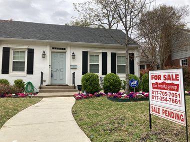 Dallas-area home prices are rising at record rates.