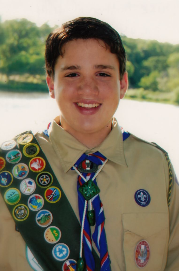 At age 13, Duke Carrillo was a member of Troop 451 and an 8th-grader at Shadow Ridge Middle School.
