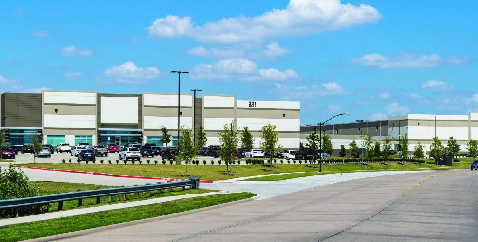 EastGroup Properties started the Creekview 121 business park in 2015.