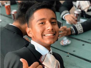 Isaac Benjamín Castañeda, de 17 años, falleció el jueves en un accidente de tránsito.