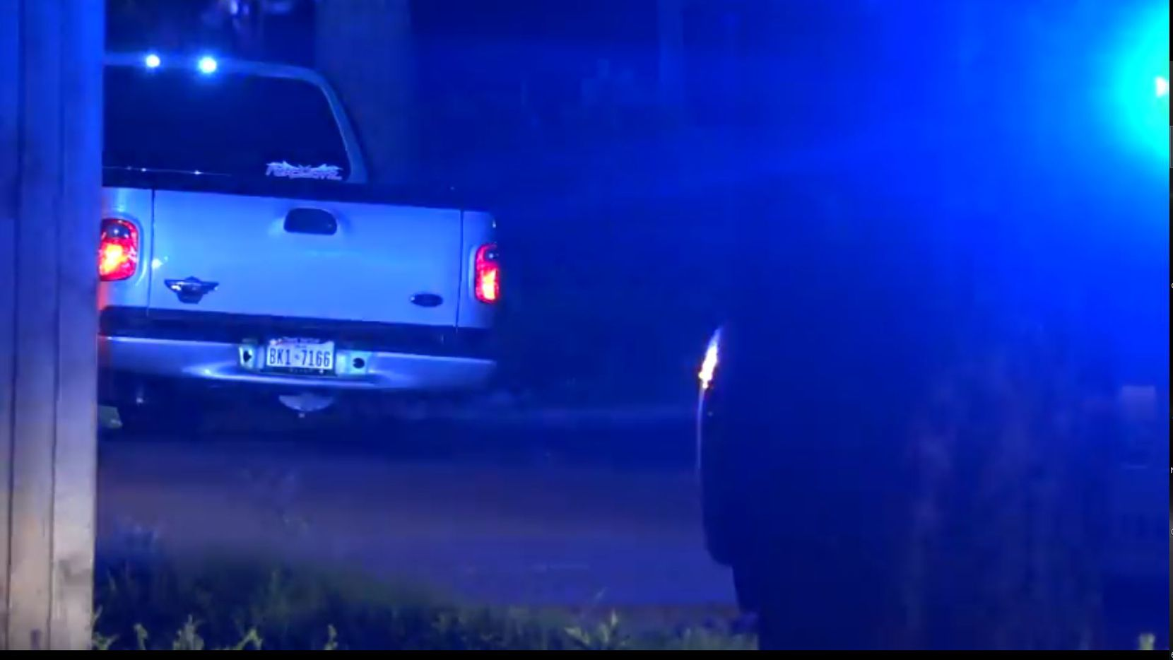 A man was arrested in West Dallas Thursday night after he led police on a 30-minute chase in a stolen Ford pickup truck, police said.