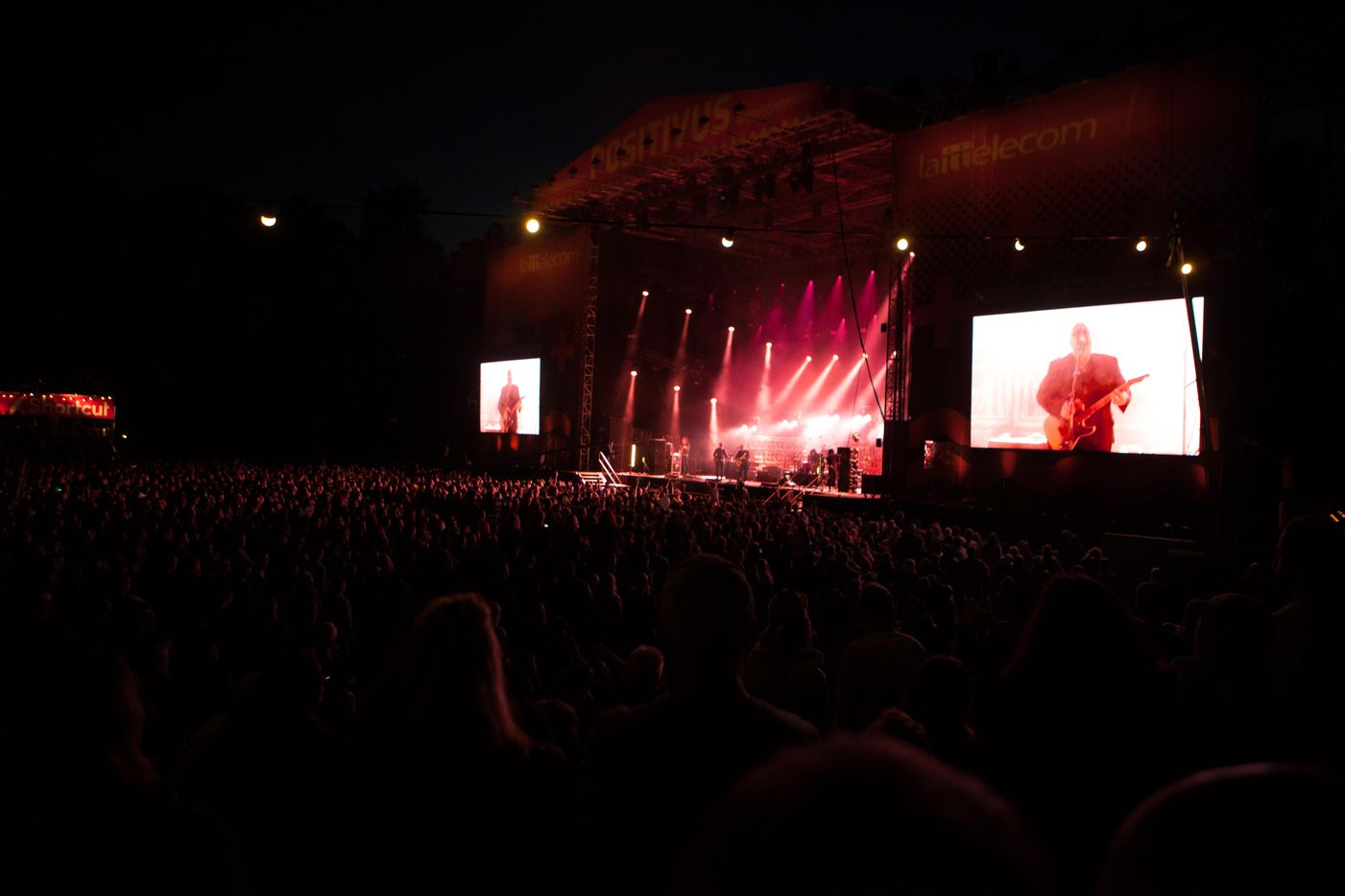 Pixies play Positivus fest in Latvia.