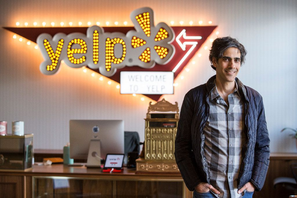 Jeremy Stoppelman, chief executive of Yelp, in its office in San Francisco on March 28, 2016.