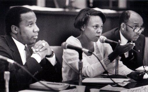 Diane Ragsdale, a Dallas City Council member, testified during congressional hearings in May 1987 about the Dallas Police Department's use of deadly force.